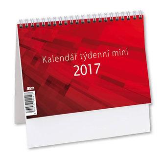 Mini týdenní - stolní kalendář 2017