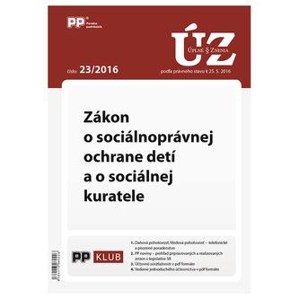 Úplne znenia zákonov 23-2016