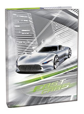 Box na sešity A4 - Fast Cars