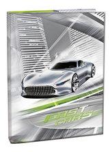 Box na sešity A5 - Fast Cars