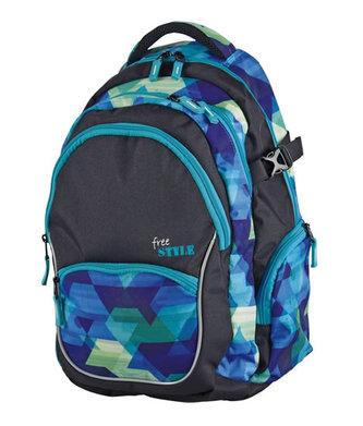 Školní batoh - Free style teen