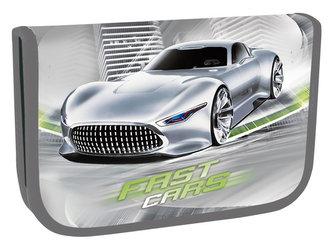 Školní penál jednopatrový - Fast Cars