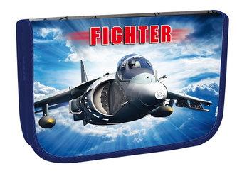 Školní penál jednopatrový - Fighter