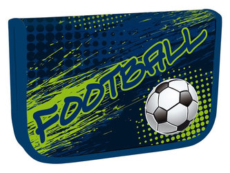 Školní penál jednopatrový - Football 2