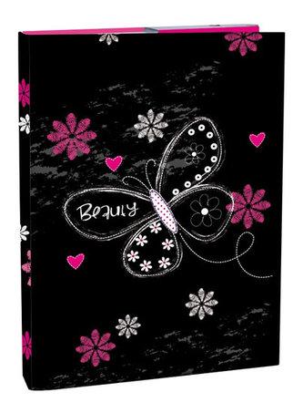 Box na sešity A4 - Romantic 2/s klopou