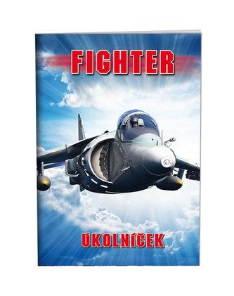 Školní úkolníček A6 - Fighter - neuveden