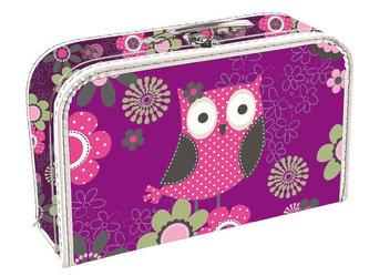 Kufřík papírový - Owl
