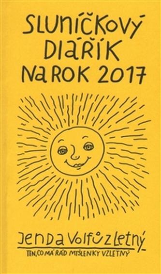 Sluníčkový diářík na rok 2017