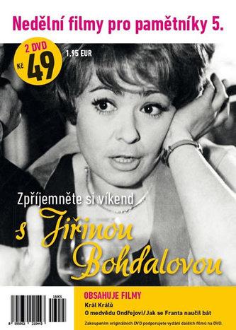 Nedělní filmy pro pamětníky 5. - Jiřina Bohdalová - 2 DVD pošetka - neuveden