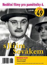 Nedělní filmy pro pamětníky 6. - Jiří Sovák - 2 DVD pošetka