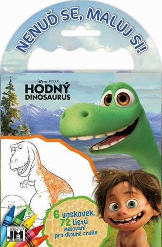 Hodný dinosaurus - Omalovánky na cesty