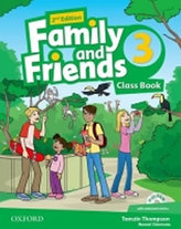 Family and Friends 2nd Edition 3 Course Book with MultiROM Pack