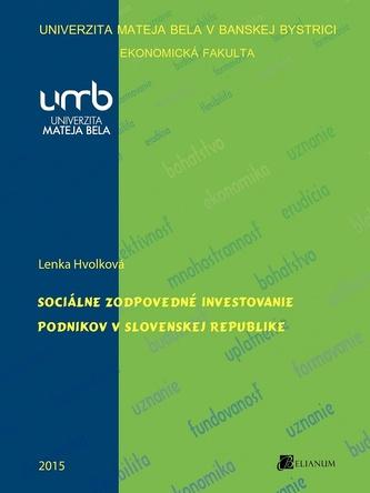 Sociálne zodpovedné investovanie podnikov v Slovenskej republike