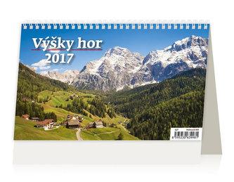 Kalendář stolní 2017 - Výšky hor