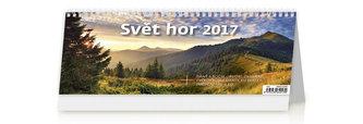 Kalendář stolní 2017 - Svět hor