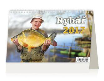 Kalendář stolní 2017 - Rybář