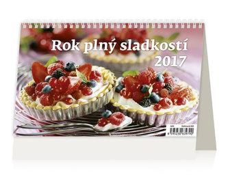 Kalendář stolní 2017 - Rok plný sladkostí