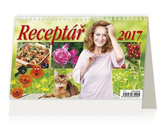 Kalendář stolní 2017 - Receptář - neuveden