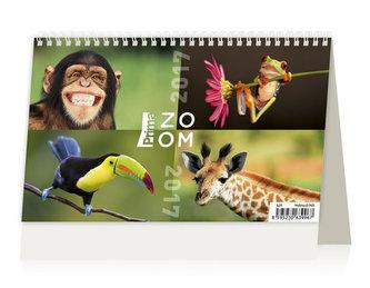 Kalendář stolní 2017 - Prima ZOOM