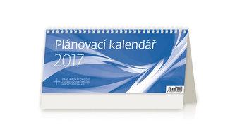 Kalendář stolní 2017 - Plánovací kalendář/modrý