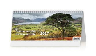Kalendář stolní 2017 - Obrázky ze světa