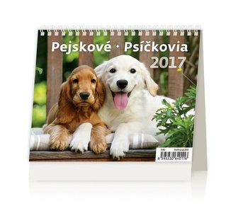 Kalendář stolní 2017 - MiniMax/Pejskové