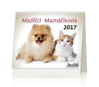 Kalendář stolní 2017 - MiniMax/Mazlíčci
