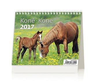 Kalendář stolní 2017 - MiniMax/Koně