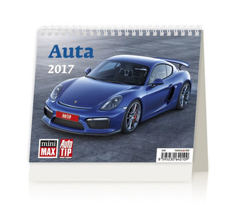 Kalendář stolní 2017 - MiniMax/Auta