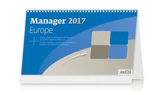 Kalendář stolní 2017 - Manager/Europe