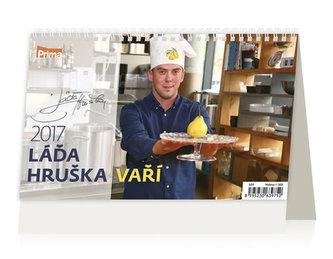 Kalendář stolní 2017 - Láďa Hruška vaří