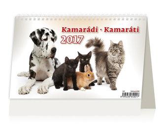 Kalendář stolní 2017 - Kamarádi