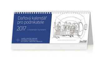 Kalendář stolní 2017 - Daňový kalendář pro podnikatele