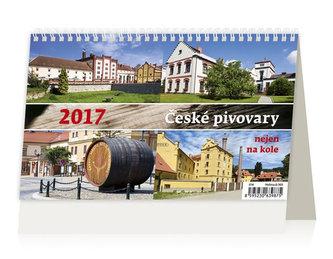 Kalendář stolní 2017 - České pivovary nejen na kole