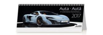 Kalendář stolní 2017 - Auta 321x134cm