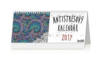 Kalendář stolní 2017 - Antistresový pracovní kalendář