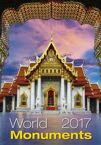 Kalendář nástěnný 2017 - World Monuments