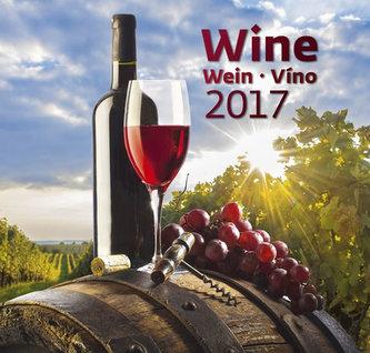 Kalendář nástěnný 2017 - Víno - Wine