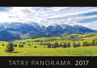 Kalendář nástěnný 2017 - Tatry/panoráma - neuveden