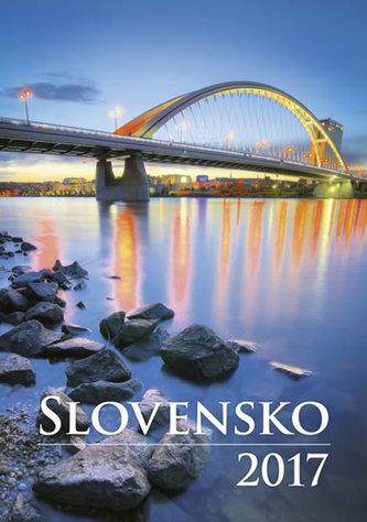 Kalendář nástěnný 2017 - Slovensko
