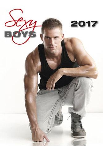 Kalendář nástěnný 2017 - Sexy Boys
