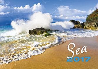 Kalendář nástěnný 2017 - Sea