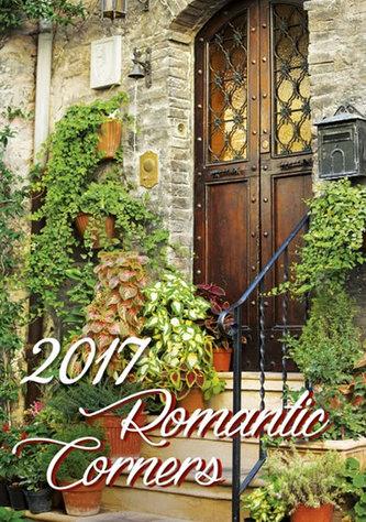Kalendář nástěnný 2017 - Romantic Corners