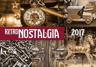 Kalendář nástěnný 2017 - Retro Nostalgia