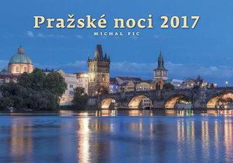Kalendář nástěnný 2017 - Pražské noci