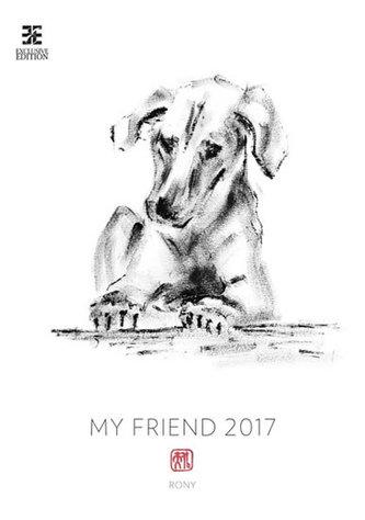Kalendář nástěnný 2017 - My Friend/Exclusive