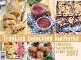 Tradičná babičkina kuchárka 2017 - stolový kalendár