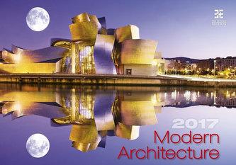 Kalendář nástěnný 2017 - Modern Architecture/Exclusive