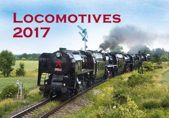 Kalendář nástěnný 2017 - Locomotives