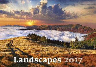 Kalendář nástěnný 2017 - Landscapes
